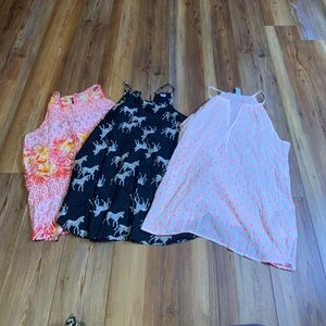 Lot of 3 Old Navy Summer Tops Womens Sz M